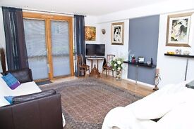 Short Term: Spacious one bedroom flat in modern development with terrace & parking