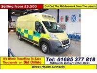 2007 - 57 - CITROEN RELAY 40 3.0HDI 160PS XLWB HI TOP VAN (GUIDE PRICE)