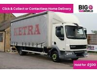 2011 DAF LF FA 45.180 EURO 5 12TON CURTAINSIDER TRUCK LORRY WITH TAIL LIFT TRUCK