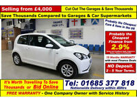 2014 - 63 - SEAT MII TOCA 1.0 PETROL 3 DOOR HATCHBACK (GUIDE PRICE)