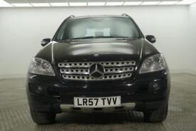2007 Mercedes-Benz M Class ML280 CDI SPORT Diesel black Automatic