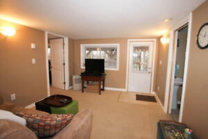 Private entrance, utilities included, one-bedroom with laundry