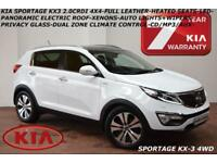 2012 Kia Sportage 2.0CRDi(AWD) KX-3-LEATHER-PAN ROOF-XENONS-HEATED SEATS-B.TOOTH