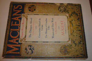 MACLEANS MAGAZINE AUGUST 1916
