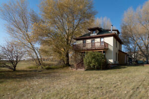 Large family home on 40 acres in the beautiful rolling hills.