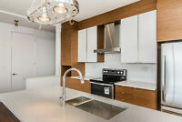 Penthouse in Rouge, Corner unit CONDO, 2BED/2BATH with garage!
