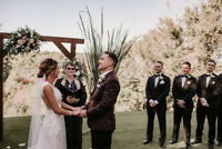 Wedding Officiant  Rev Kelly Moores