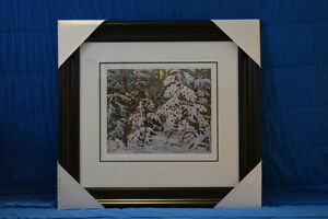 """Limited Edition """"Winter Morning"""" by Tom Thomson London Ontario image 5"""