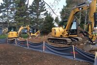 Excavation, Drainage Solutions and Septic System Services