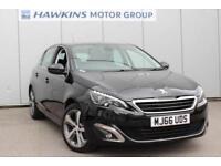 2016 Peugeot 308 1.2 PureTech Allure 130 s/s Manual Hatchback
