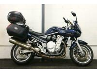 SUZUKI GSF1250 SA ABS ** Full Givi Luggage - Centre Stand - Crash Protectors **