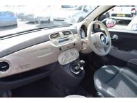 2015 Fiat 500 1.2 Pop (s/s) 3dr Petrol beige Manual
