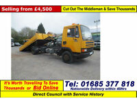 1993 - L - DAF FA 45.150 4X2 TURBO 10TON TILT & SLIDE DROPSIDE C/W WINCH