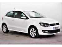 2014 Volkswagen Polo MATCH EDITION Petrol white Manual