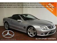 2008 Mercedes-Benz SL350 3.5 7G-Tronic Sport Edition-ONLY 24K MILES WITH F.M.S.H