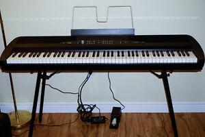 Korg SP-280 88 Key Digital Piano