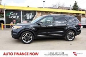 2013 Ford Explorer 4WD CHEAP PAYMENTS LEATHER LOADED 7 PASSENGER