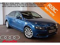 2010 Audi A4 2.0TDI SE-ONLY 60K FULL SERVICE HISTORY-CRUISE-B/TOOTH-IMMACULATE-