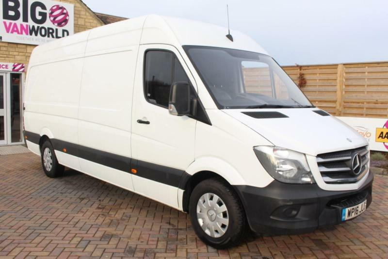 0b908001cd67a4 2016 MERCEDES SPRINTER 313 CDI LWB HIGH ROOF 20TH ...