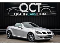Mercedes SLK 350 3.5 V6 Automatic Auto *Iridium Silver +Black Leather+ 63k Miles