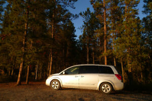 Nissan Quest 2007 - Converted minivan - Eager to travel :)
