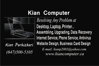On-site computer repair services Toronto