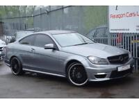 2011 Mercedes-Benz C Class C63 Coupe 6.2V8 457 AMG Edition 125 SpdS MCT7 Petrol