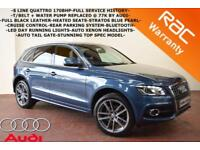 2010 Audi Q5 2.0TDI ( 170ps ) quattro S Line-LEATHER-HEATED SEATS-XENON LIGHTS-