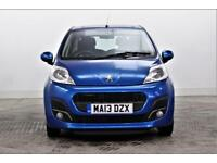 2013 Peugeot 107 ACTIVE Petrol blue Manual