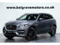 """2018 Jaguar F-Pace R-SPORT AWD AUTO 22"""" HAWKE ALLOYS SAT NAV FULL BLACK LEA"""
