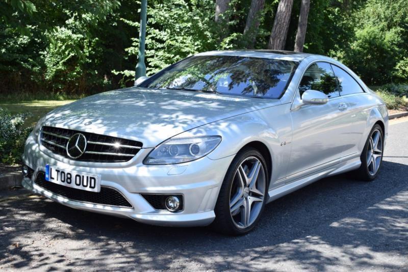 Mercedes Benz Cl 63 Amg 6 2 Cl63 7g Tronic Amg Night Vision 64 000