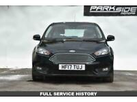 2017 Ford Focus 1.0 ZETEC 5d 100 BHP Hatchback Petrol Manual