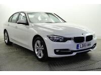 2015 BMW 3 Series 318D SPORT Diesel white Manual