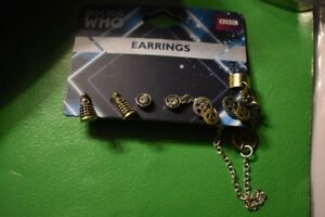BBC Brand new Doctor Who related earring sets