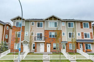 PRIDE REDUCED! 2 Bedroom Townhouse in Chestermere w/ Lake View