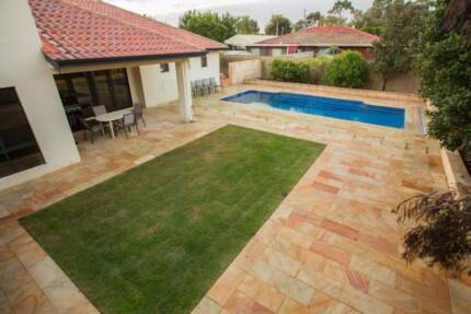 landscaping and brickpaving