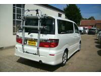 TOYOTA ALPHARD CAMPER VAN,MOTORHOME,~~BRAND NEW SIDE KITCHEN~~BIKE RACK~~ULEZ