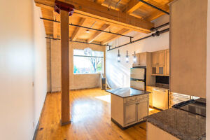 BEAUTIFUL Two-Story Downtown Loft in Historic Building