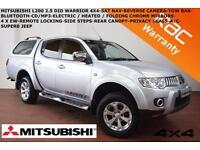 2011 Mitsubishi L 200 WARRIOR-REV CAMERA-SAT NAV-B.TOOTH-CANOPY-CRUISE##NO VAT##