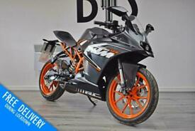 KTM RC 125 2016 '16 125cc Sport Bike CBT Learner Legal 3382 miles from new