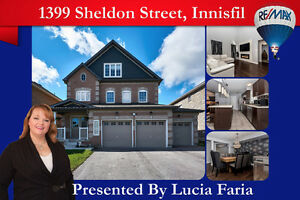 Incredible 3401 above grade sqft home with a triple car garage!