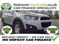Chevrolet Captiva 2.2 VCDI 4WD 7 SEAT LT Good / Bad Credit Car Finance (silver) 2012
