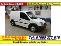 2011 - 61 - FORD TRANSIT CONNECT T200 1.8TDCI 75PS VAN (GUIDE PRICE)