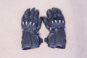 Lindstrands Arrox Motorcycle Gloves Black, Size M