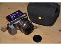 Sony NEX 5T compact system camera with 16-50mm lens