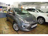 2014 Ford Ka 1.2 ( 69ps ) Zetec/ Finance/ FSH/ HPI Clear/ Immaculate