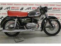 1957 Zundapp 200 S, Classic Motorcycle/Motorbike.