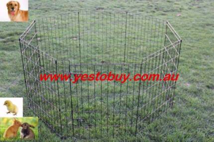 "30"" 76cmH 8panel Dog Playpen penCage Crate Enclosure Rabbit fence Oakleigh Monash Area Preview"