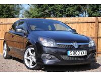 Vauxhall Astra 1.8i 16v VVT Sport Hatch SRi Exterior Pack 3 Door Petrol Black