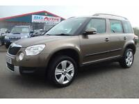 60 SKODA YETI 2.0 TDI 140 CR SE 4X4 6 SP MET BROWN